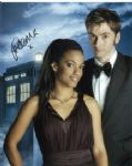 "Freema Agyeman ""Martha Jones"" from Doctor Who hand signed 10 x 8 #2"